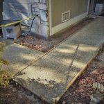 Washed Aggregate Walkway