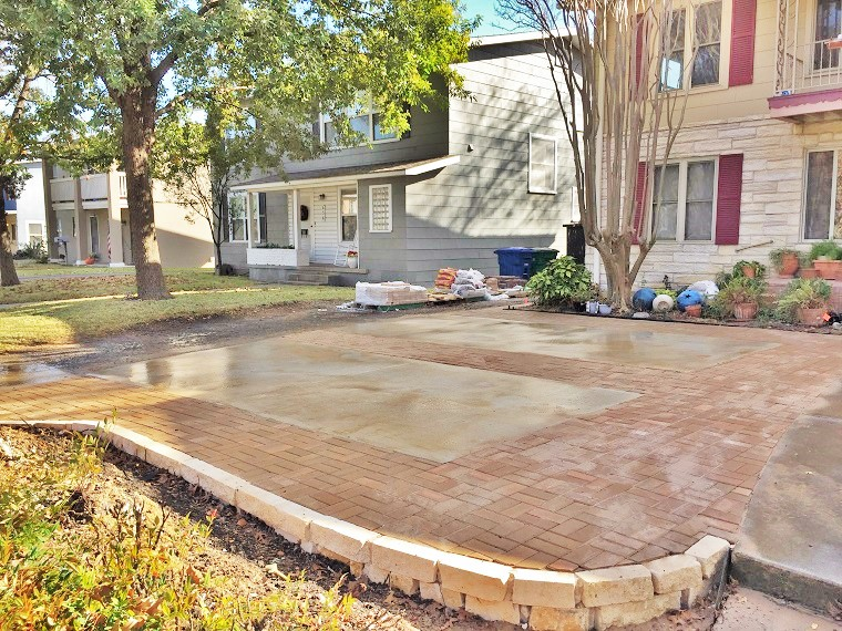 Driveway and Paver Ext